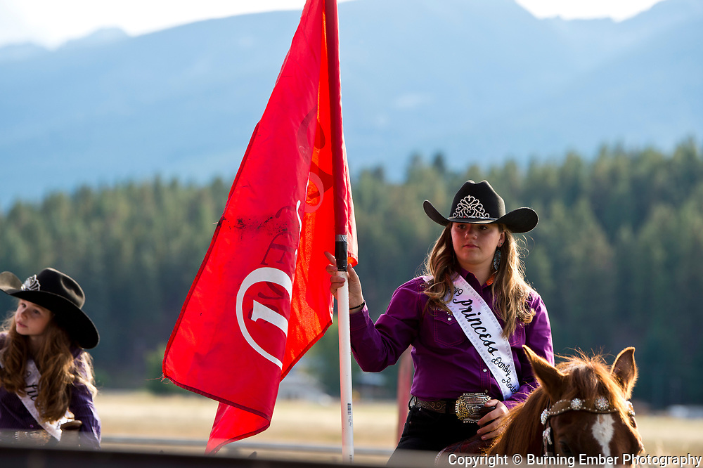 Darby Rodeo Princess at the Darby Broncs N Bulls event Sept 7th 2019.  Photo by Josh Homer/Burning Ember Photography.  Photo credit must be given on all uses.