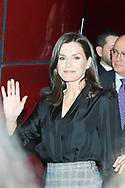 Queen Letizia of Spain attends Opening ceremony of the 'International Safe Internet Day' at Reina Sofia Museum on February 11, 2020 in Madrid, Spain