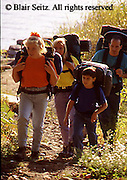 Outdoor recreation, Young Family Trail Hiking, Family Primitive  Camping