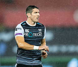 James Hook of Ospreys<br /> <br /> Photographer Simon King/Replay Images<br /> <br /> Guinness PRO14 Round 6 - Ospreys v Connacht - Saturday 2nd November 2019 - Liberty Stadium - Swansea<br /> <br /> World Copyright © Replay Images . All rights reserved. info@replayimages.co.uk - http://replayimages.co.uk