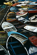Wooden boats, Whitby, England.
