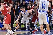 DESCRIZIONE : Eurolega Euroleague 2015/16 Group D Dinamo Banco di Sardegna Sassari - Brose Basket Bamberg<br /> GIOCATORE : Joe Alexander<br /> CATEGORIA : Palleggio Controcampo<br /> SQUADRA : Dinamo Banco di Sardegna Sassari<br /> EVENTO : Eurolega Euroleague 2015/2016<br /> GARA : Dinamo Banco di Sardegna Sassari - Brose Basket Bamberg<br /> DATA : 13/11/2015<br /> SPORT : Pallacanestro <br /> AUTORE : Agenzia Ciamillo-Castoria/L.Canu