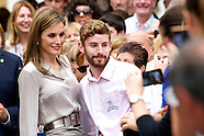 071814 Queen Letizia at the opening of the summer courses of the International School of Music