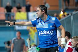 Branko Tamse during handball match between RK Celje Pivovarna Lasso and RD Koper 2013 of Super Cup 2016, on August 27, 2016 in SRC Marina, Portoroz / Portorose, Slovenia. Photo by Matic Klansek Velej / Sportida