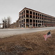 Detroit, U.S, Michigan: View of the the Great Packard Plant on Concorde Ave, whose became one of the most tired images of Detroit's decline, but long before that, it was a trailblazer that changed the way auto plants were built and produced more than 1.6 million cars. by . Photographs by Alejandro Sala   Visit Shop Images to purchase and download a digital file and explore other Alejandro-Sala images…