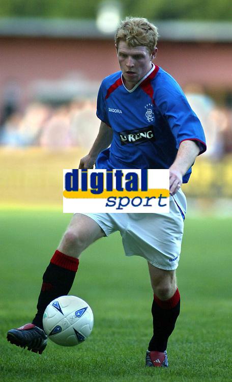 Fotball<br /> Skottland 2004/05<br /> Treningskamp<br /> FC Fuerstenfeld v Glasgow Rangers<br /> 19. juli 2004<br /> Foto: Digitalsport<br /> NORWAY ONLY<br /> Chris Burke, Rangers