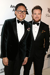 February 24, 2019 - West Hollywood, CA, USA - LOS ANGELES - FEB 24:  Nico Santos, Zeke Smith at the Elton John Oscar Viewing Party on the West Hollywood Park on February 24, 2019 in West Hollywood, CA (Credit Image: © Kay Blake/ZUMA Wire)