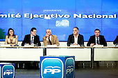 Appearance of Mariano Rajoy at the PP headquarters to talk about the Barcenas case