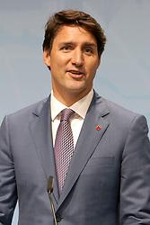 July 8, 2017 - Hamburg, Hamburg, Deutschland - Justin Trudeau bei einer Pressekonferenz auf dem G20-Gipfel. Hamburg, 08.07.2017 (Credit Image: © Future-Image via ZUMA Press)