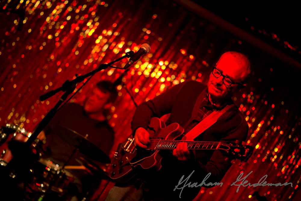Guitarist Jack Silverman and drummer Robert Crawford live at the Stone Fox in Nashville, TN