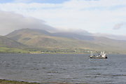 Boats in Cromane harbour waiting for the oyster fishing.<br /> Photo: Don MacMonagle <br /> e: info@macmonagle.com