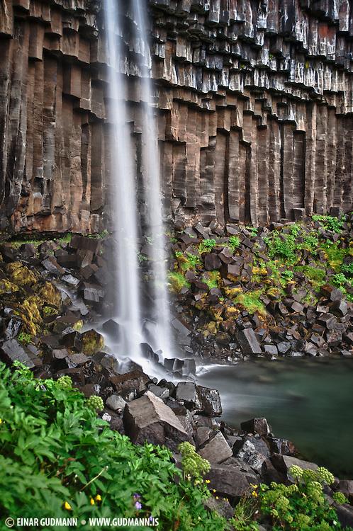 Svartifoss. Taken in South-east Iceland