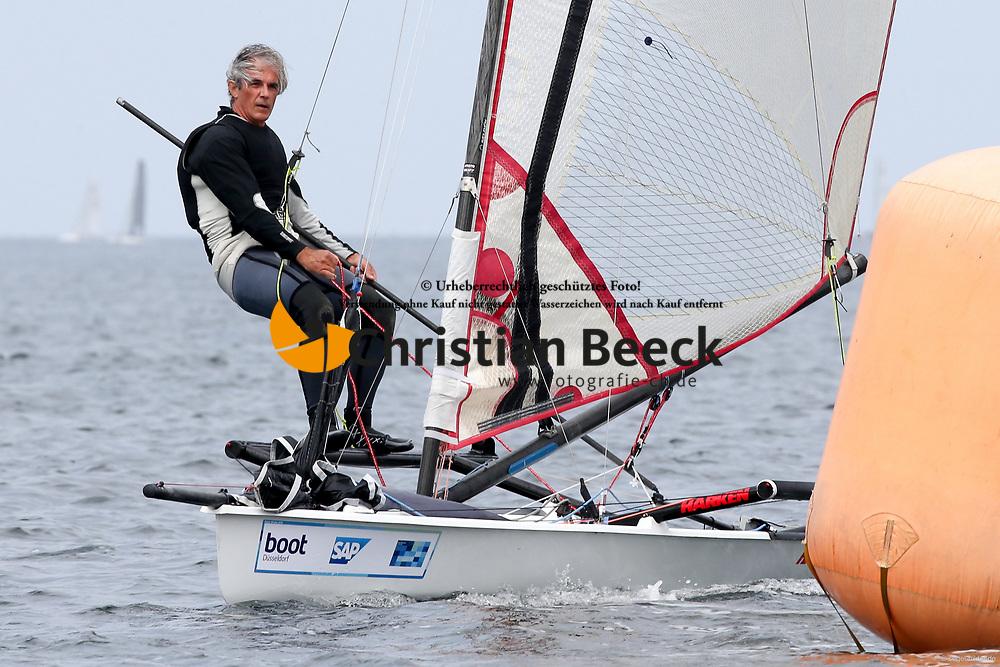 , Kiel - Kieler Woche 20. - 28.06.2015, Musto Skiff - GBR 376 - Rickard, David