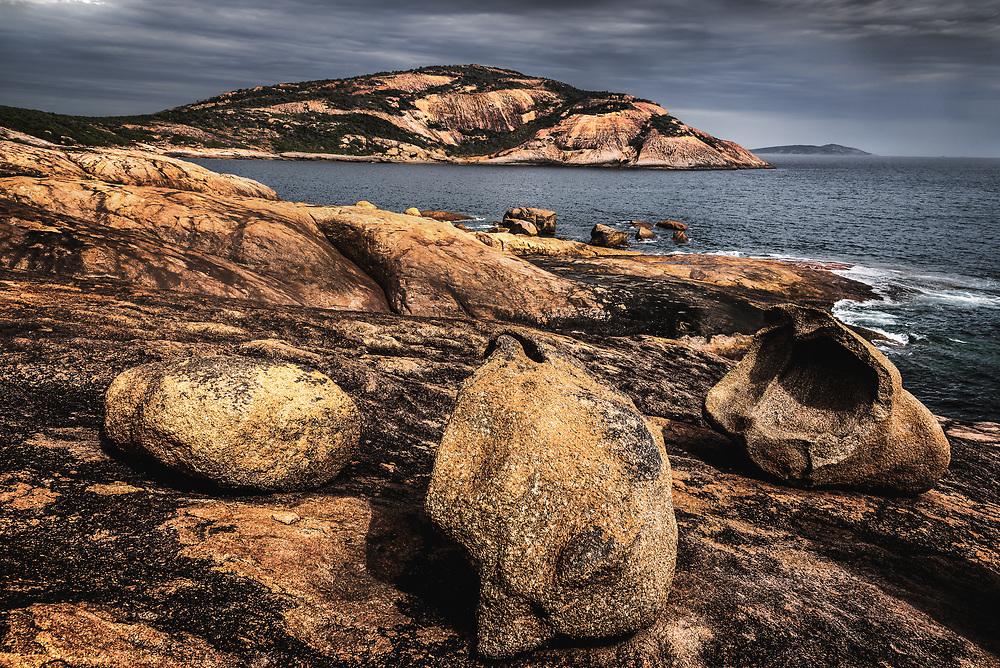 Shoreline in Cape La Grand National Park, Western Australia.