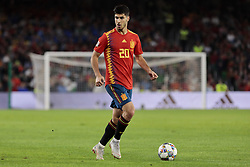 Spain's Marcos Asensio during UEFA Nations League 2019 match between Spain and England at Benito Villamarin stadium in Sevilla, Spain. October 15, 2018. Photo by A. Perez Meca/Alterphotos/ABACAPRESS.COM