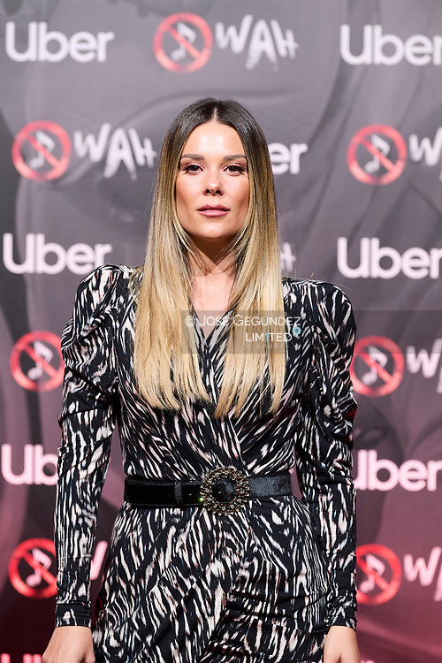Lorena Gomez attends 'Wah' Musical Show World Premiere Red Carpet at IFEMA on October 7, 2021 in Madrid, Spain