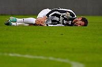 Infortunio Claudio Marchisio Juventus.Calcio Juventus vs Sampdoria.Serie A - Torino 06/1/2013 Juventus Stadium .Football Calcio 2012/2013.Foto Federico Tardito Insidefoto