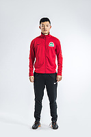 **EXCLUSIVE**Portrait of Chinese soccer player Zhong Jinbao of Henan Jianye F.C. for the 2018 Chinese Football Association Super League, in Zhengzhou city, central China's Henan province, 21 February 2018.
