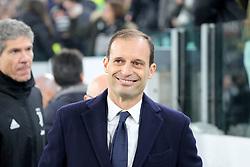 December 7, 2018 - Milan, Piedmont, Italy - Massimiliano Allegri, head coach of Juventus FC, before the Serie A football match between Juventus FC and FC Internazionale at Allianz Stadium on December 07, 2018 in Turin, Italy..Juventus won 1-0 over Internazionale. (Credit Image: © Massimiliano Ferraro/NurPhoto via ZUMA Press)