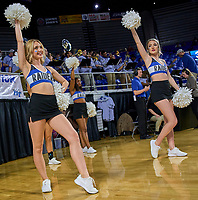 Middle Tennessee Blue Raiders dance team during the Southern Mississippi Golden Eagles at Middle Tennessee Blue Raiders college basketball game in Murfreesboro, Tennessee, Saturday, March, 7, 2020.<br /> Photo: Harrison McClary/All Tenn Sports