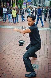 Street performer in Dublin<br /> <br /> (c) Andrew Wilson   Edinburgh Elite media