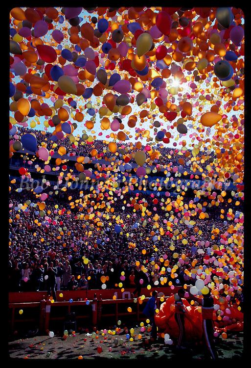 Clemson Balloons.