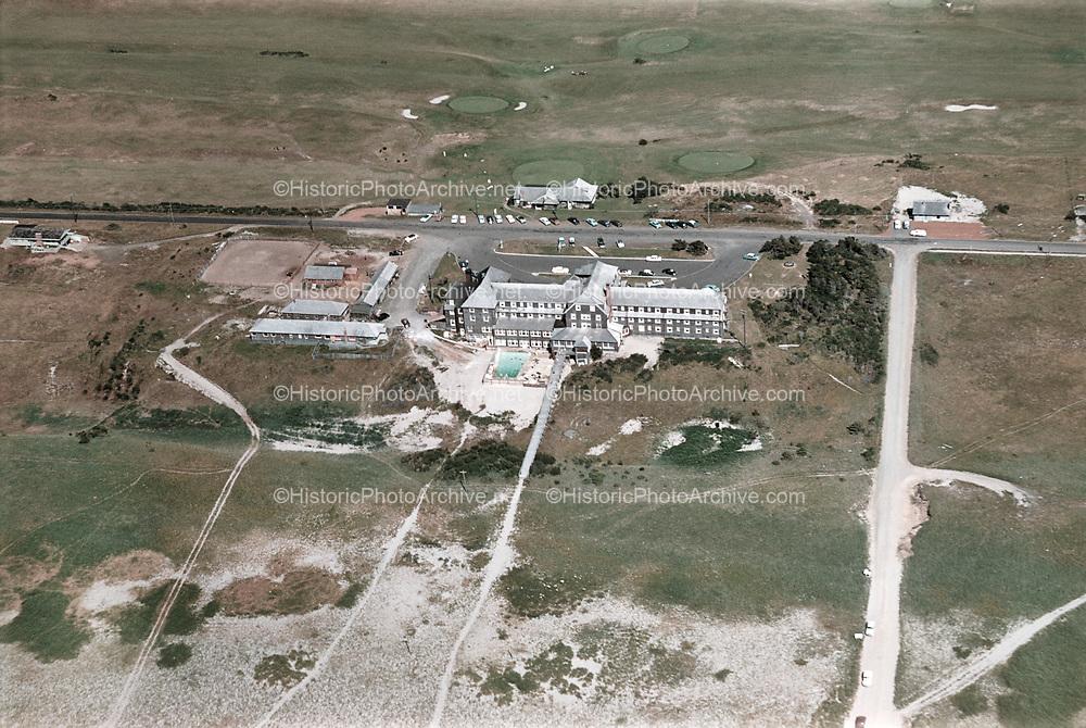 ackroyd_C00513-08. Gearhart Hotel, Marion Ave., Gearhart Golf Club. July 27, 1954
