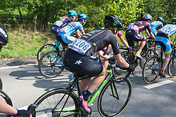 Lauren Stephens (USA) of Cylance Pro Cycling rides mid-pack during Liege-Bastogne-Liege - a 136 km road race, between Bastogne and Ans on April 22, 2018, in Wallonia, Belgium. (Photo by Balint Hamvas/Velofocus.com)