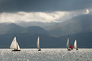 Last day of Menai Strait regatta 2017. Beaumaris courses. These images were taken whilst being filmed for the new ITV Wales sries, 'The Strait' to be broadcast in Januray 2018.<br />