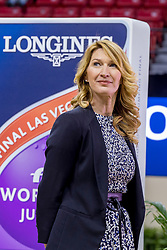 Steffi Graf, GER<br /> World Cup Final Jumping - Las Vegas 2015<br /> © Hippo Foto - Dirk Caremans<br /> 19/04/2015
