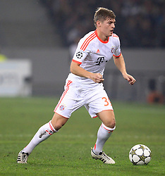 23.10.2012, Grand Stade Lille Metropole, Lille, OSC Lille vs FC Bayern Muenchen, im Bild Toni KROOS (FC Bayern Muenchen - 39) Freisteller // during UEFA Championsleague Match between Lille OSC and FC Bayern Munich at the Grand Stade Lille Metropole, Lille, France on 2012/10/23. EXPA Pictures © 2012, PhotoCredit: EXPA/ Eibner/ Ben Majerus..***** ATTENTION - OUT OF GER *****