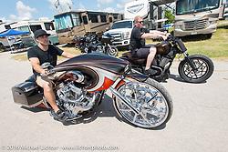 Zach Ness (Grandson of Arlen) at the 2016 ROT (Republic of Texas Rally). Austin, TX, USA. June 10, 2016.  Photography ©2016 Michael Lichter.