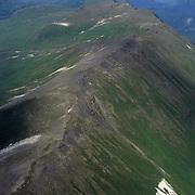 An aerial of Kodiak Island in Alaska.