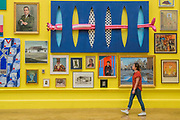 Works including Infinty by Olga Lomaka, £58,500 - Royal Academy celebrates its 250th Summer Exhibition, and to mark this momentous occasion, the exhibition is co-ordinated by Grayson Perry RA.