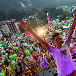 20180807: SLO, Cycling - Reception of Primoz Roglic in Zagorje after Tour de France 2018