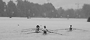 Lucerne, SWITZERLAND.  General view as the scullers scull away from the presentation pontoon. 1992 FISA World Cup Regatta, Lucerne. Lake Rotsee.  [Mandatory Credit: Peter Spurrier: Intersport Images] 1992 Lucerne International Regatta and World Cup, Switzerland