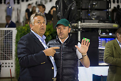 Hendri Prudent (FRA), Eric Lamaze (CAN)<br /> Final competiton<br /> Furusiyya FEI Nations Cup™ Final - Barcelona 2014<br /> © Dirk Caremans<br /> 11/10/14