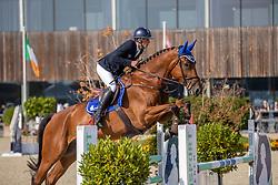 Genin Bertrand, BEL, Izecoeur de Bellignies W<br /> Belgian Championship 6 years old horses<br /> SenTower Park - Opglabbeek 2020<br /> © Hippo Foto - Dirk Caremans<br />  13/09/2020