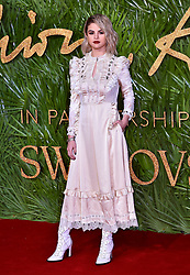 Selena Gomez attending the Fashion Awards 2017, in partnership with Swarovski, held at the Royal Albert Hall, London. Picture Date: Monday 4th December, 2017. Photo credit should read: Matt Crossick/PA Wire
