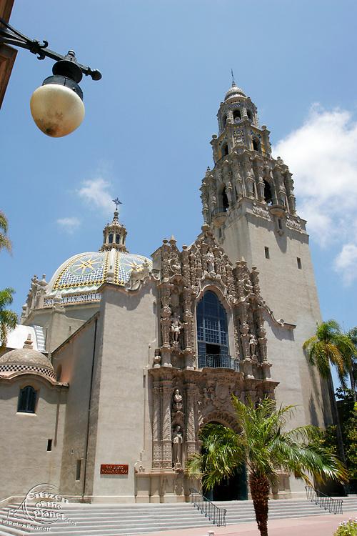 California Tower, Museum Of Man, Balboa Park, San Diego, California (SD)