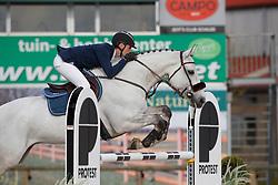 Vermeiren Dieter, BEL, Kingston Town 111 Z<br /> Grand Prix CSI -U25 Azelhof - Lier 2017<br /> © Hippo Foto - Dirk Caremans<br /> 16/04/17