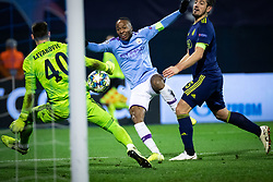 Raheem Sterling of Manchester City scoring a goal during football match between GNK Dinamo Zagreb and Manchester City in 6th Round of UEFA Champions league 2019/20, on December 11, 2019 in Maksimir, Zagreb, Croatia. Photo by Blaž Weindorfer / Sportida