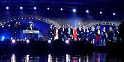 5 mei-concert op de Amstel / May 5 liberatrion concert at the Amstel<br /> <br /> Op de foto / On the photo:   Cast Musical Soldaat van Oranje