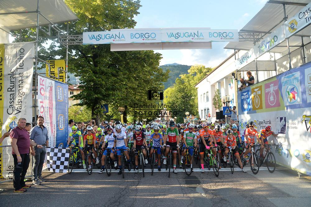 51° COPPA D'ORO - Sabato 8 settembre 2018 Coppa di sera 12° edizione Borgo Valsugana ESORDIENTI UOMINI II° ANNO – Km 42 - <br /> 08.9.2018.<br /> Borgo Valsugana, Trentino, Italia.<br /> © DANIELEMOSNA.IT