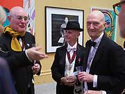 HUMPHREY OCEAN; DAVID RENFRY; ALLEN JONES, Royal Academy of Arts Annual Dinner. Burlington House, Piccadilly. London. 6 June 2017