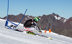 04.10.2014, Rettenbach Ferner, Soelden, AUT, OeSV, Gletschertraining, im Bild Philipp Schoerghofer (AUT) // Philipp Schoerghofer of Austria during a practice session of Austrian Ski Federation at the Rettenbachferner, Austria on 2014/10/04. EXPA Pictures © 2014, PhotoCredit: EXPA/ JFK