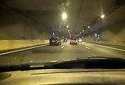 Nederland, Utrecht, 1-9-2012De tunnel in de A2 rijksweg vlak voor knooppunt oudenrijn.Driebaans snelweg.Foto: Flip Franssen/Hollandse Hoogte
