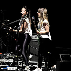 Hall and Oates Tour, Wednesday 1st May 2019<br /> <br /> Pictured: Support Artist KT Tunstall and bassist Mandy Clarke<br /> <br /> Aimee Todd | Edinburgh Elite media