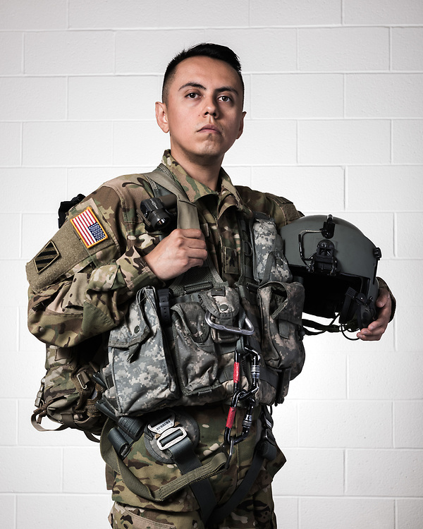 "Flight Paramedic, C Co. 3/10 GSAB, 10th Mountain Division, ""Mountain Dustoff"""