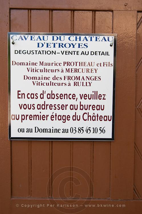 chateau d'etroyes mercurey burgundy france